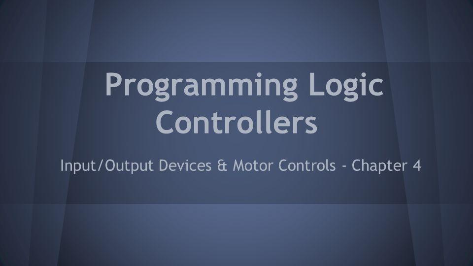 Programming Logic Controllers
