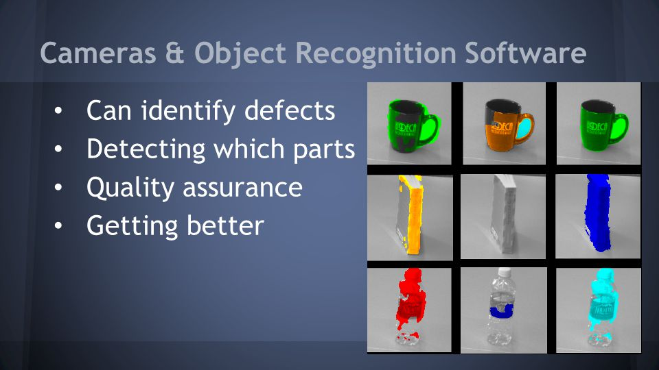 Cameras & Object Recognition Software
