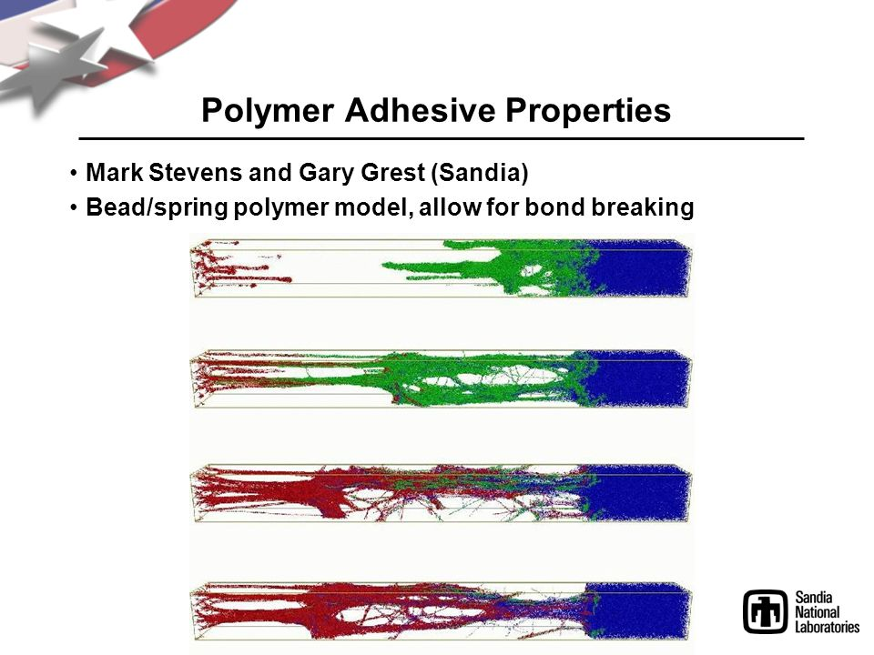 Polymer Adhesive Properties