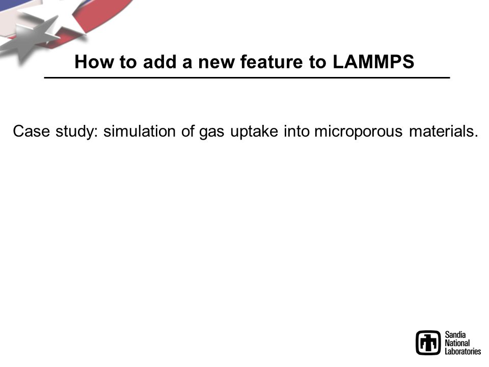 How to add a new feature to LAMMPS