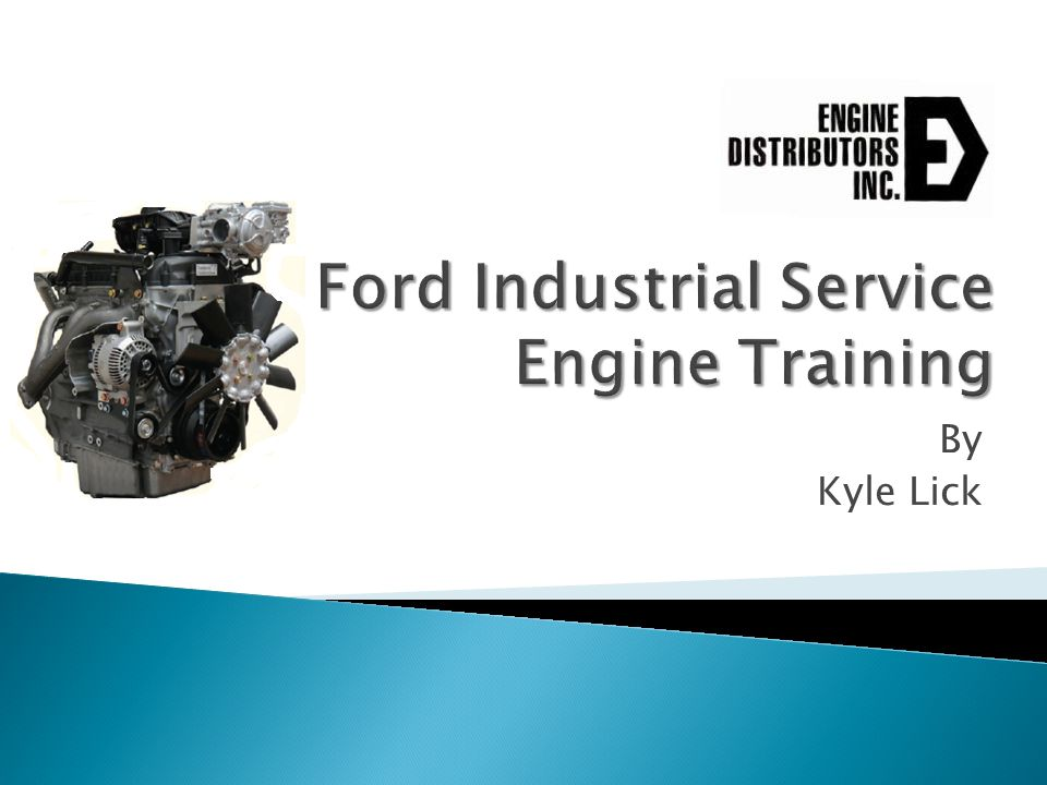 Ford Industrial Service Engine Training
