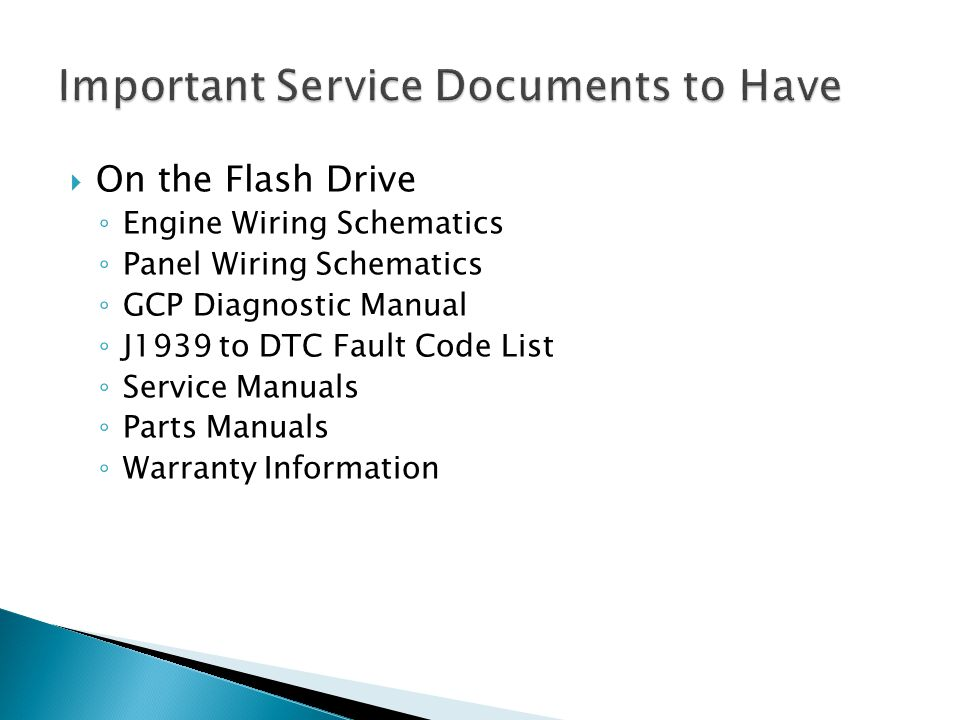 Important Service Documents to Have