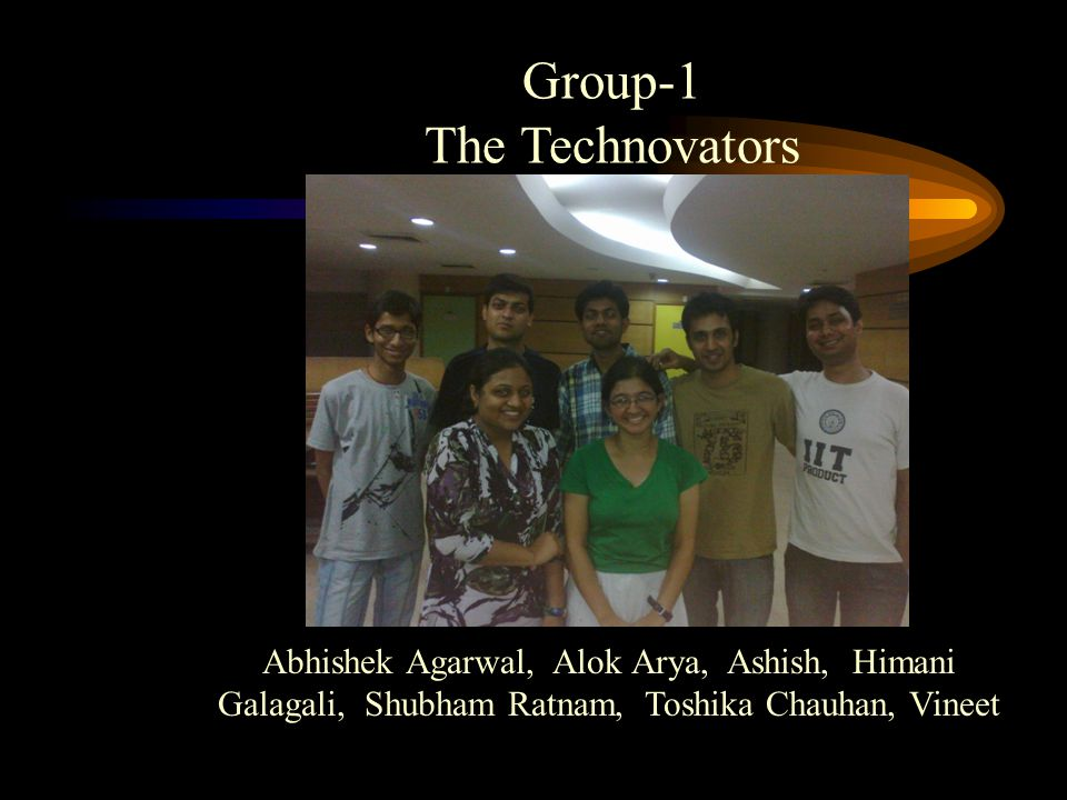 Group-1 The Technovators