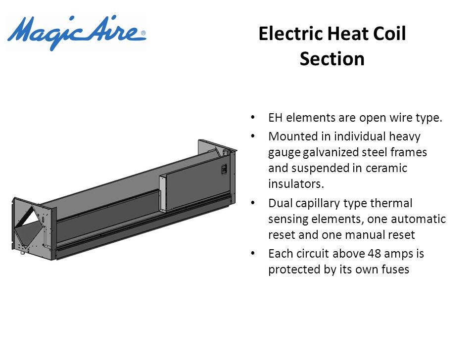 Electric Heat Coil Section