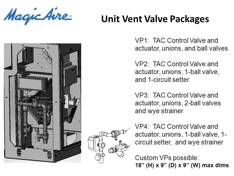 Unit Vent Valve Packages