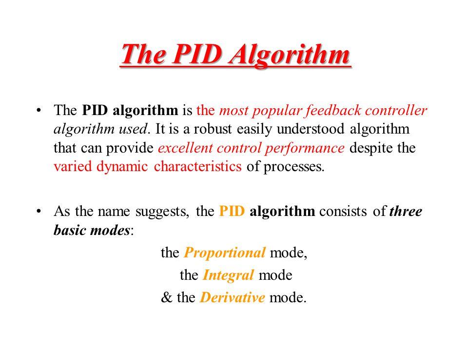 The PID Algorithm