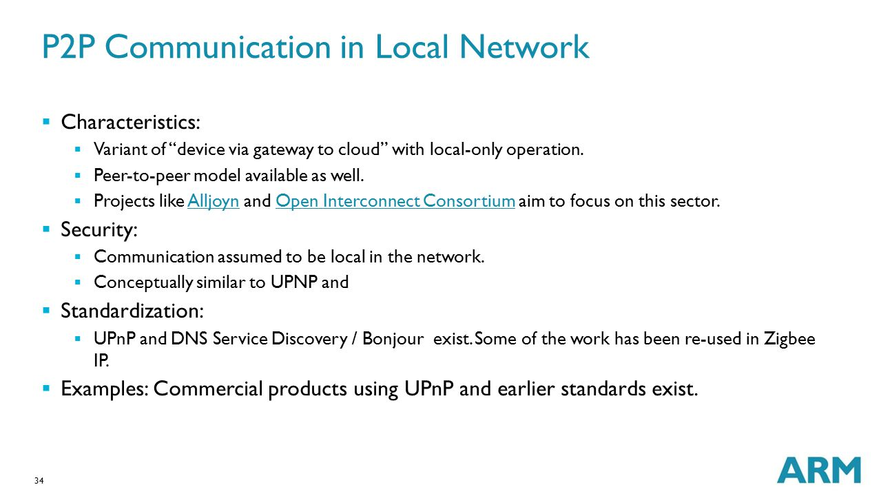 P2P Communication in Local Network
