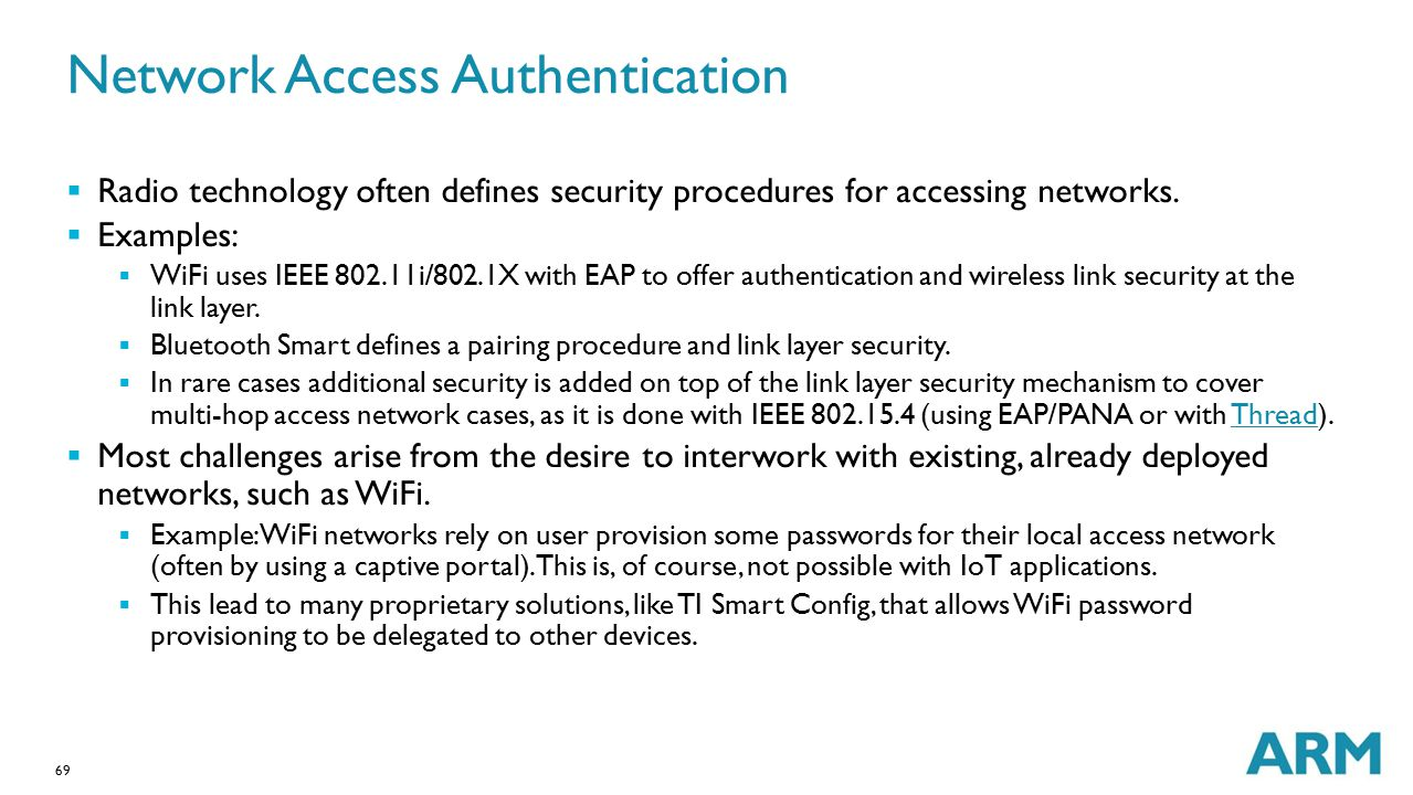 Network Access Authentication
