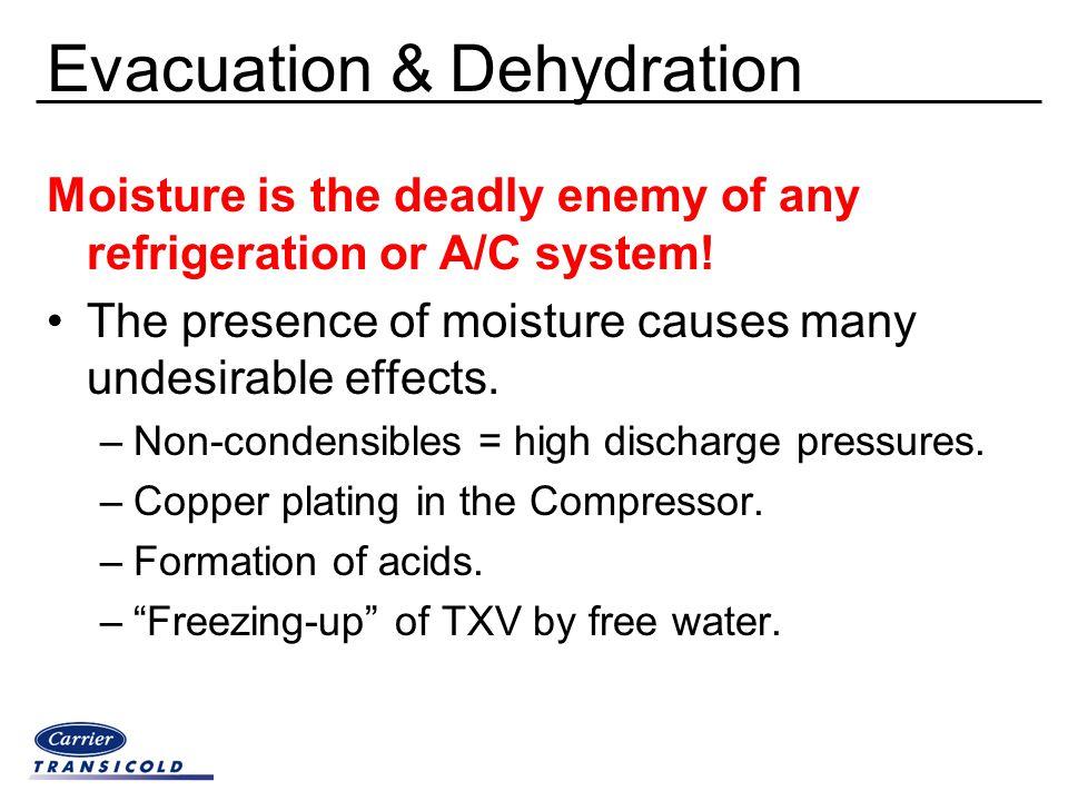 Evacuation & Dehydration