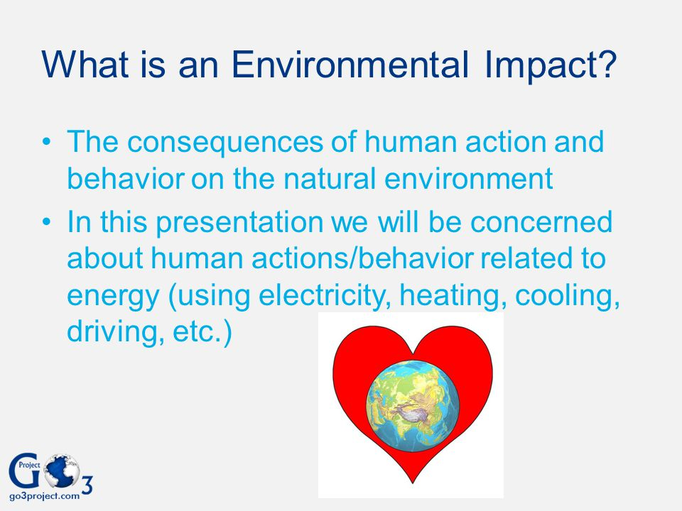 What is an Environmental Impact