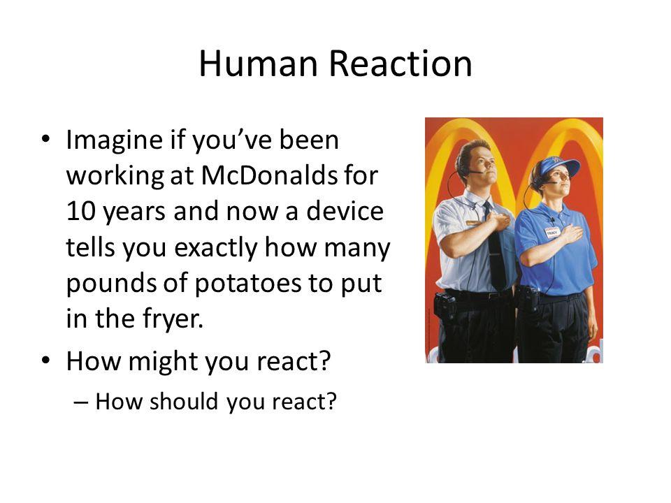 Human Reaction