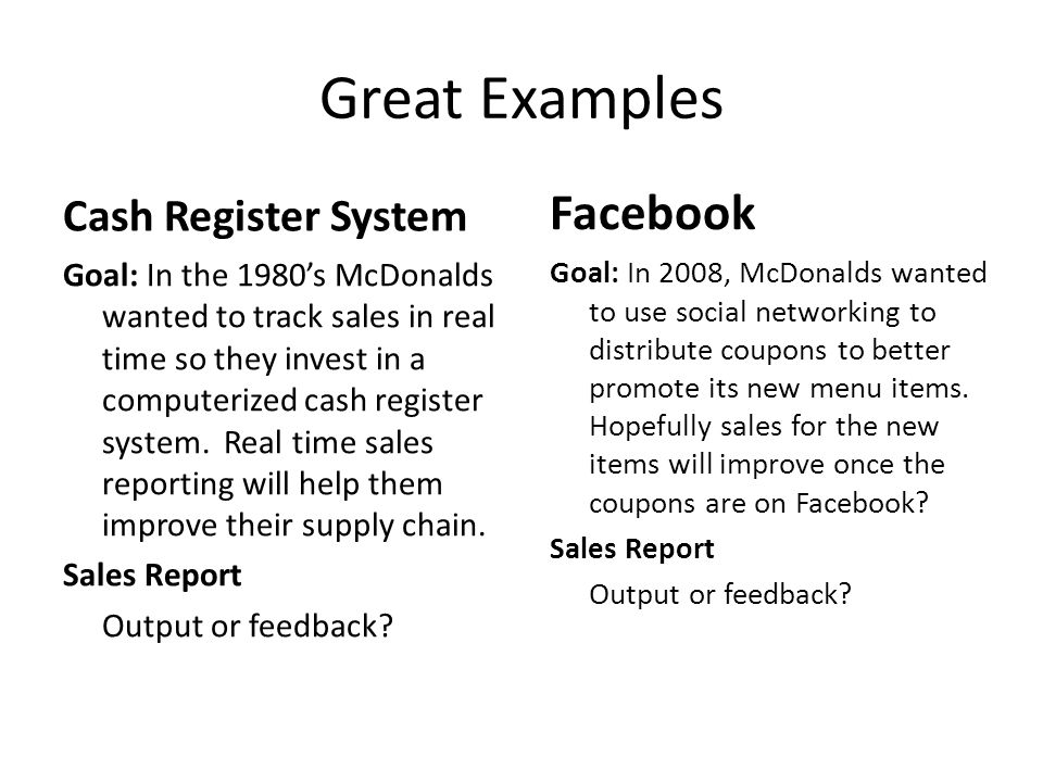 Great Examples Facebook Cash Register System