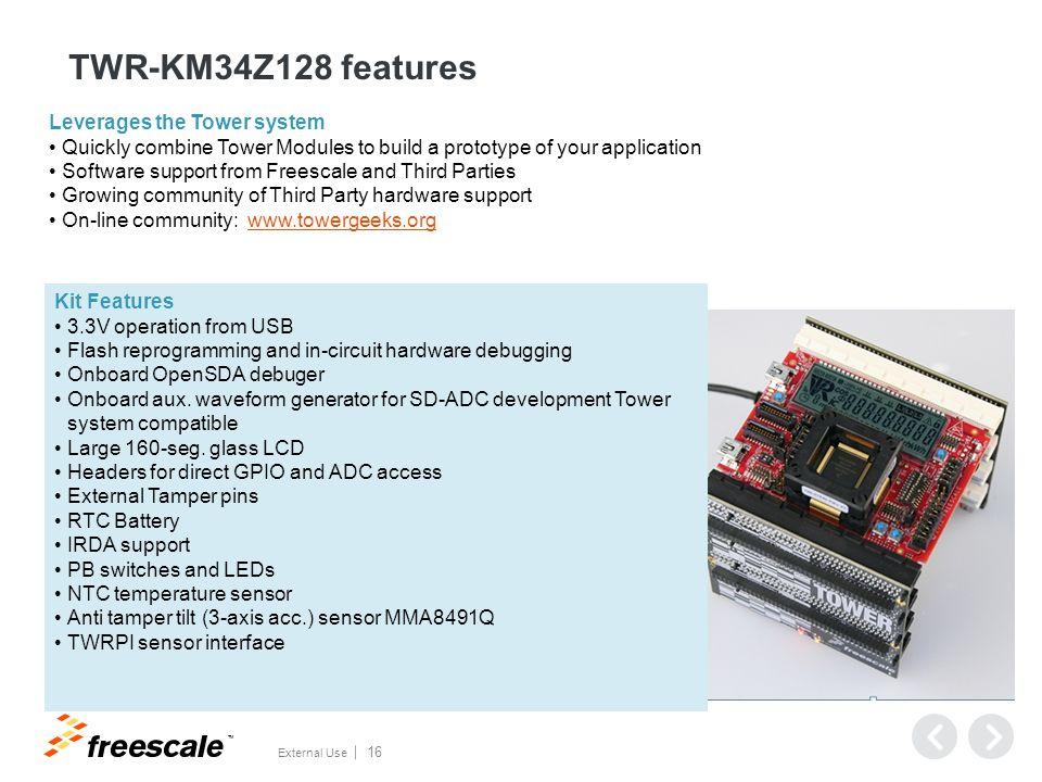 TWR-KM34Z128 Board