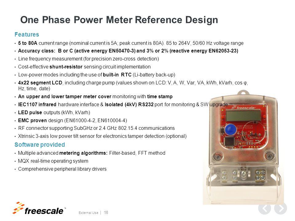 KM34 Power measurement accuracy