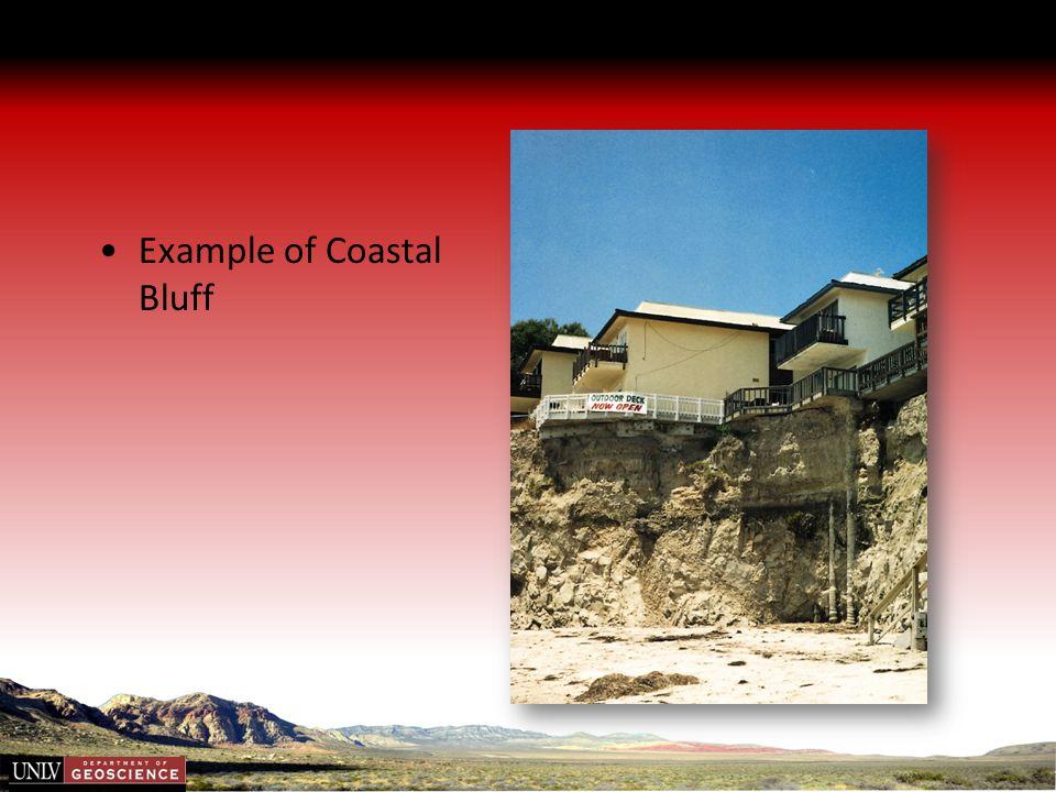 Example of Coastal Bluff