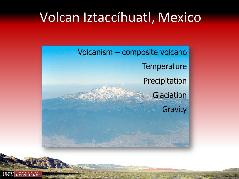 Volcan Iztaccíhuatl, Mexico