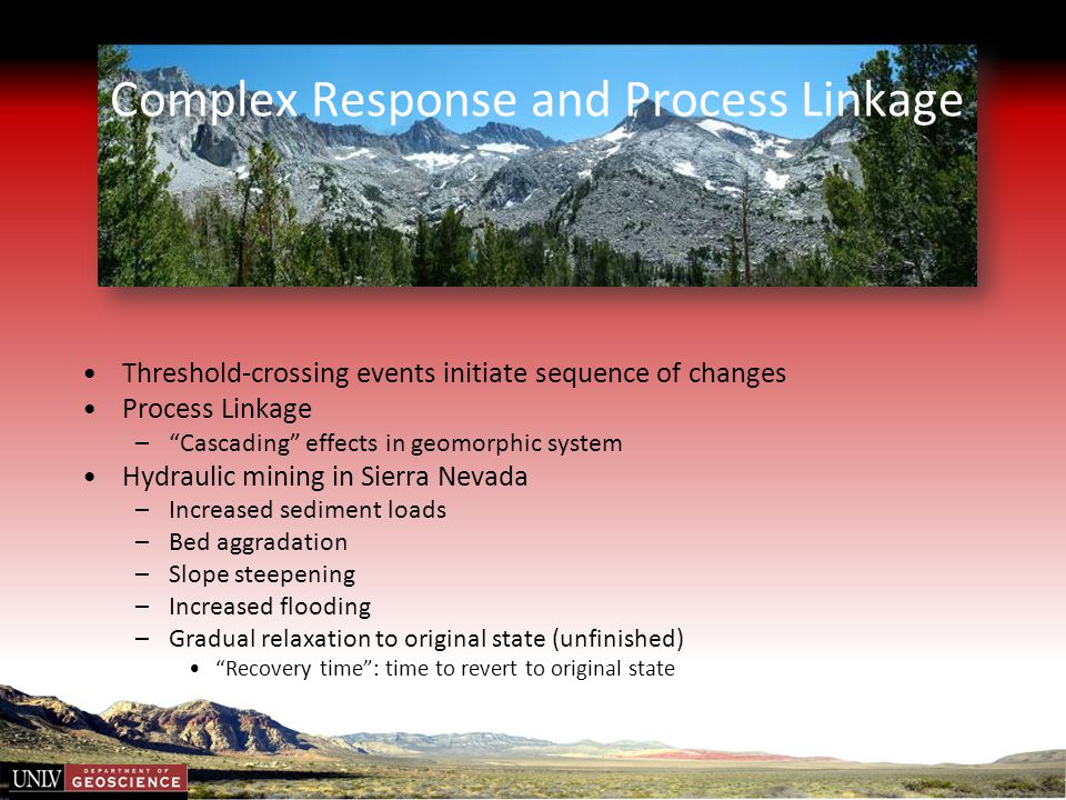 Complex Response and Process Linkage