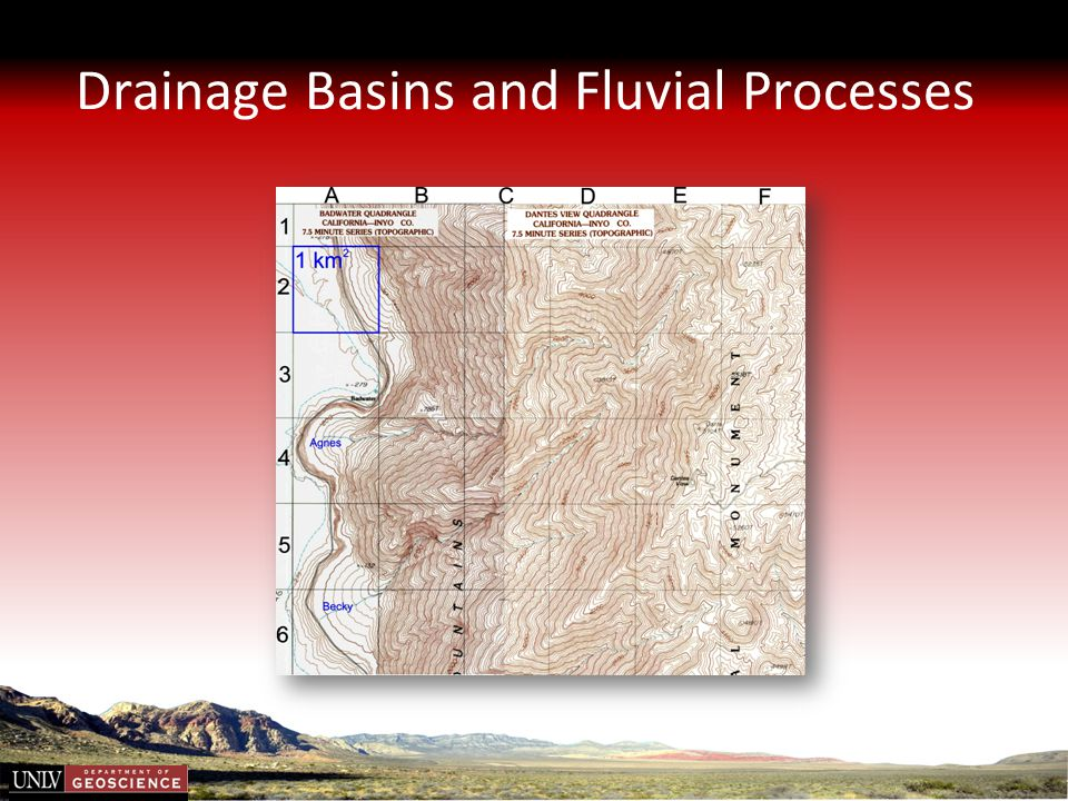 Drainage Basins and Fluvial Processes