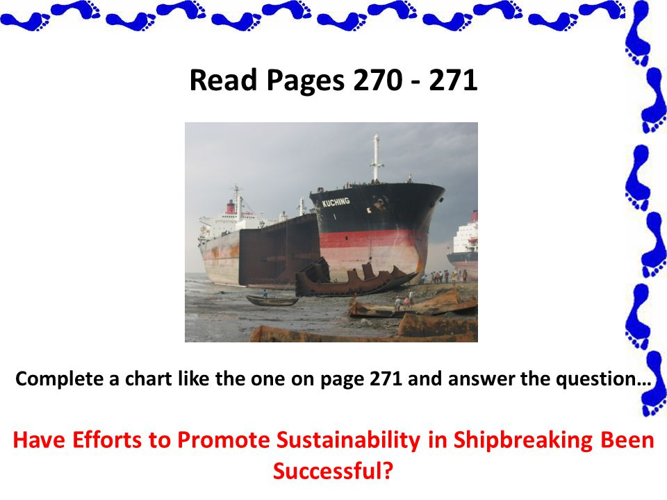 Complete a chart like the one on page 271 and answer the question…