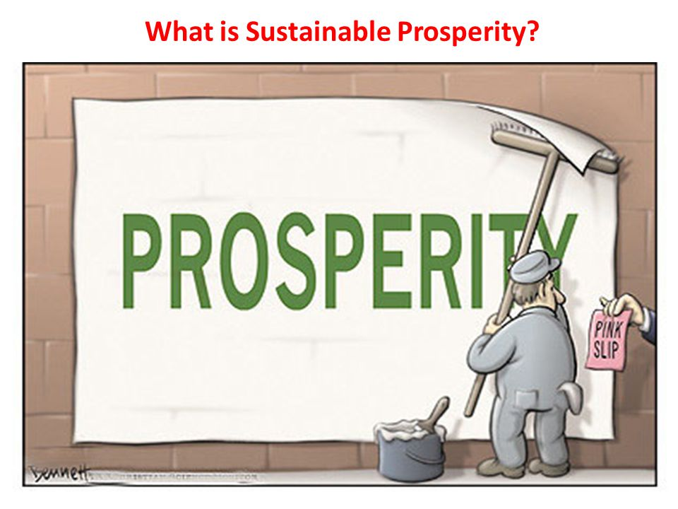 What is Sustainable Prosperity
