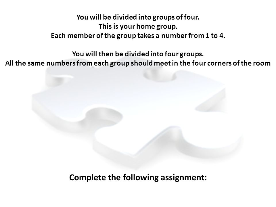 Complete the following assignment: