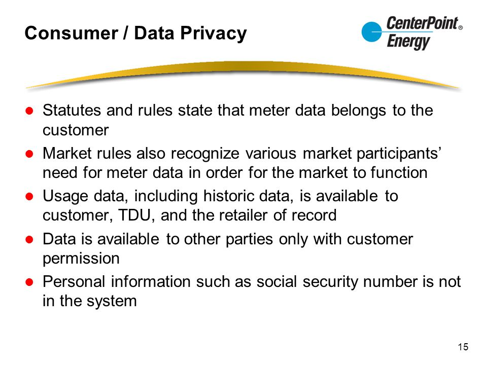 Consumer / Data Privacy