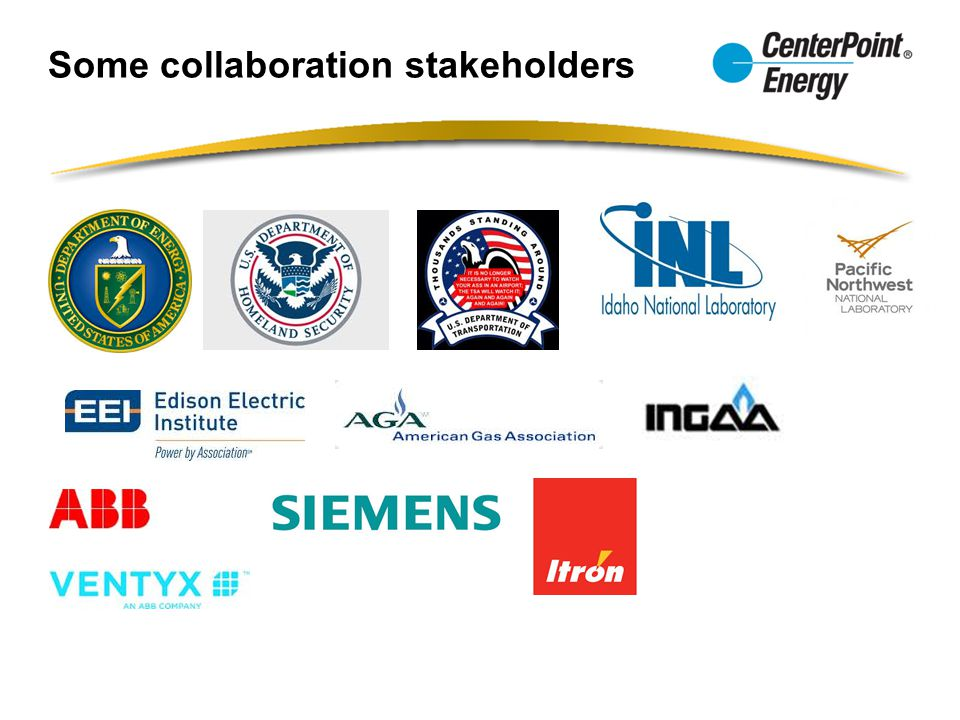 Some collaboration stakeholders