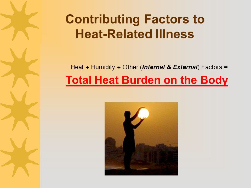 Contributing Factors to Heat-Related Illness
