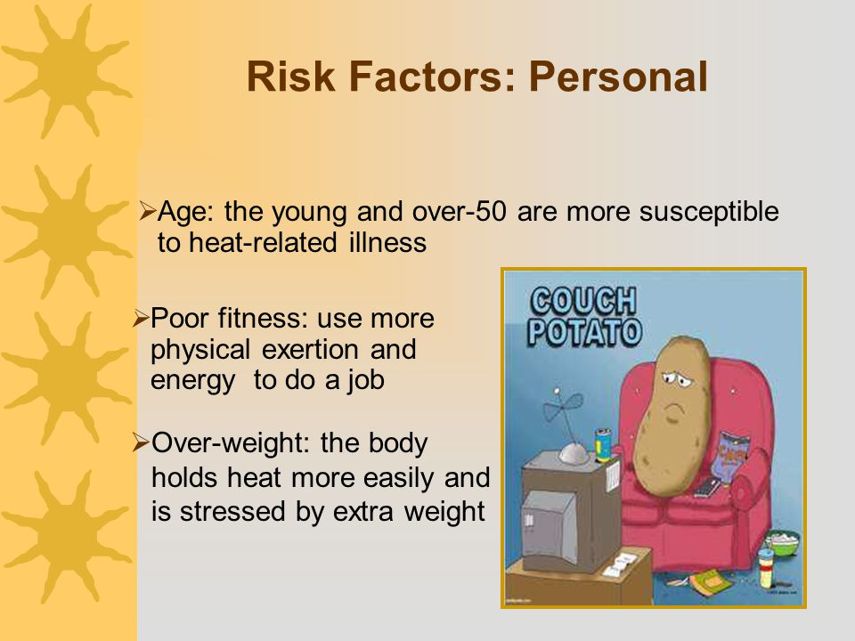 Risk Factors: Personal
