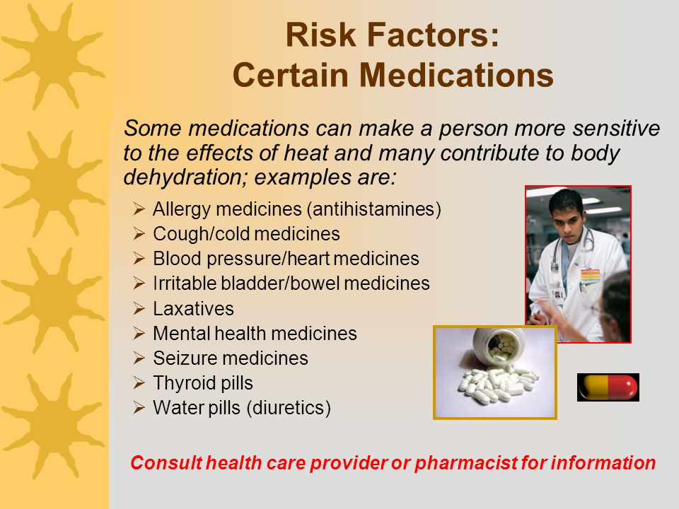 Risk Factors: Certain Medications