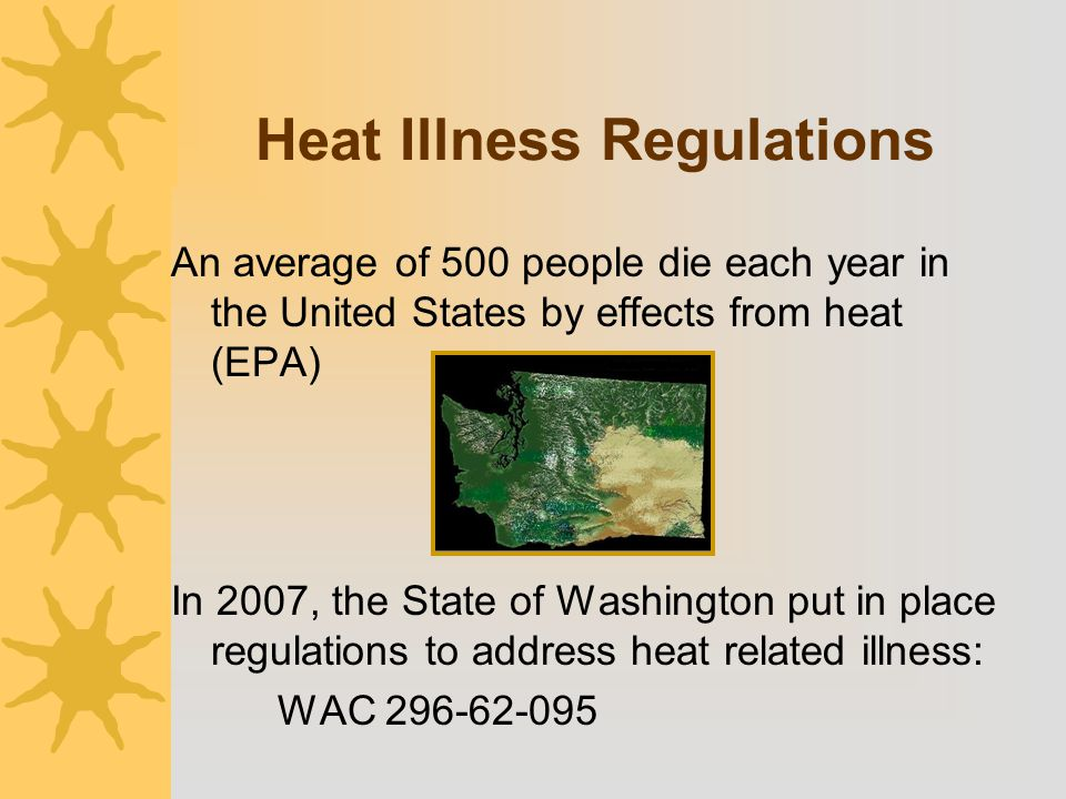 Heat Illness Regulations