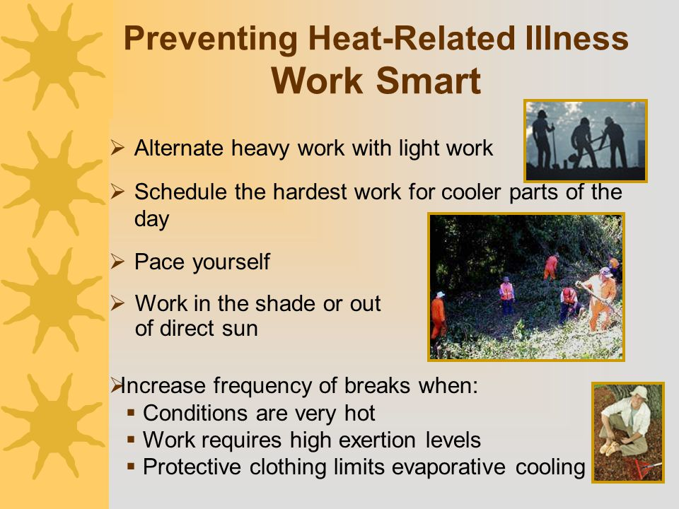 Preventing Heat-Related Illness Work Smart