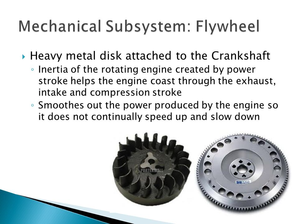 Mechanical Subsystem: Flywheel