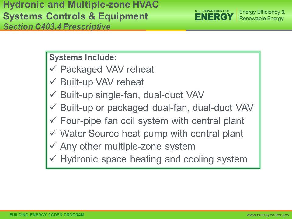 Built-up single-fan, dual-duct VAV