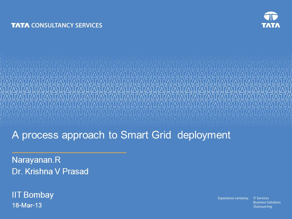 A process approach to Smart Grid deployment