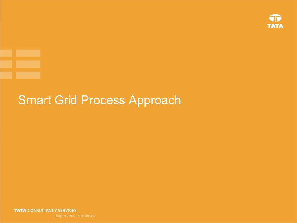 Smart Grid Process Approach