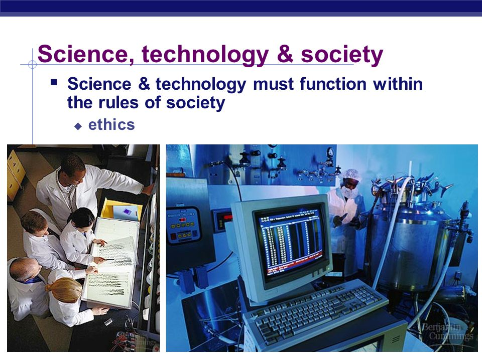 Science, technology & society