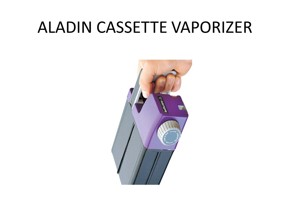 ALADIN CASSETTE VAPORIZER
