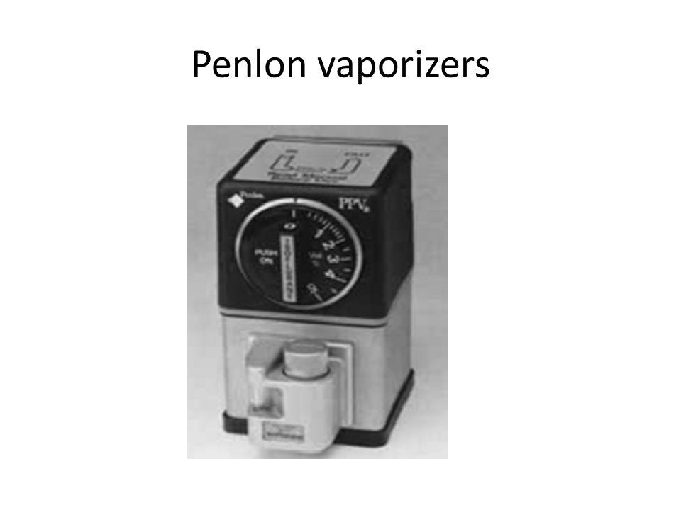 Penlon vaporizers