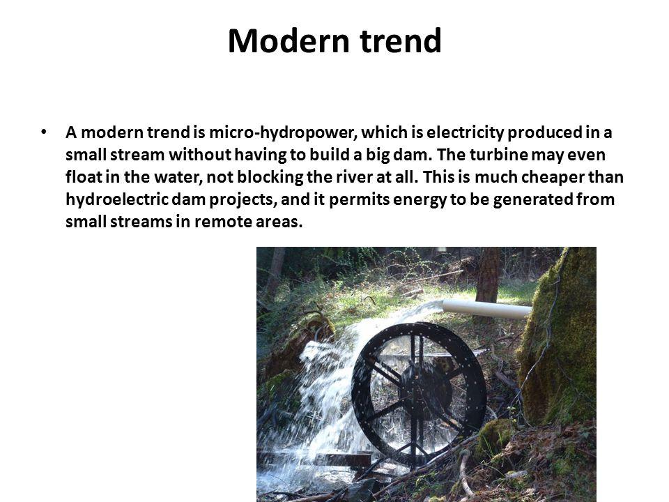 Modern trend