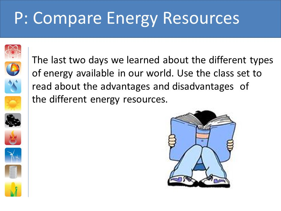 P: Compare Energy Resources