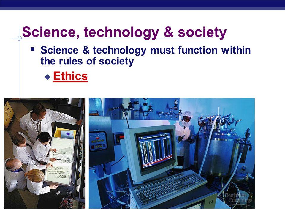 Science, technology & society