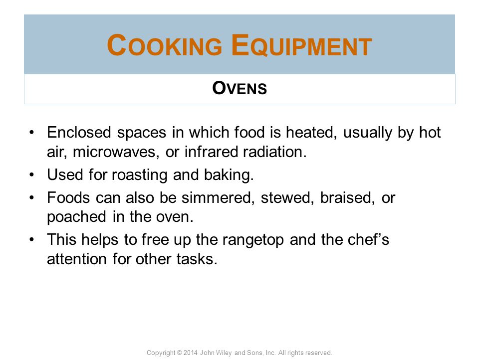 Cooking Equipment Ovens