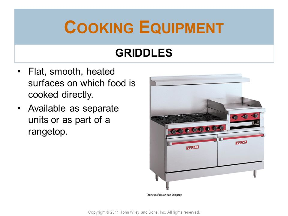 Cooking Equipment GRIDDLES