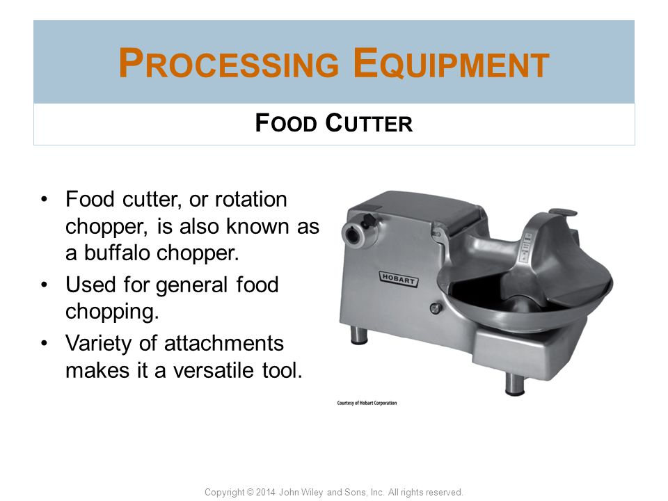 Processing Equipment Food Cutter