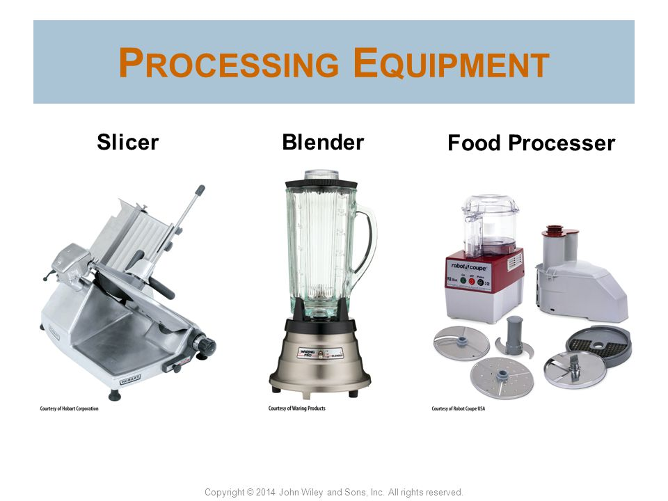 Processing Equipment Slicer Blender Food Processer Slicer
