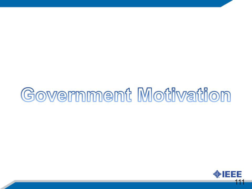 Government Motivation
