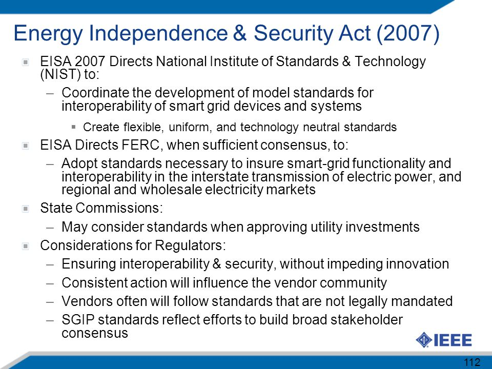 Energy Independence & Security Act (2007)