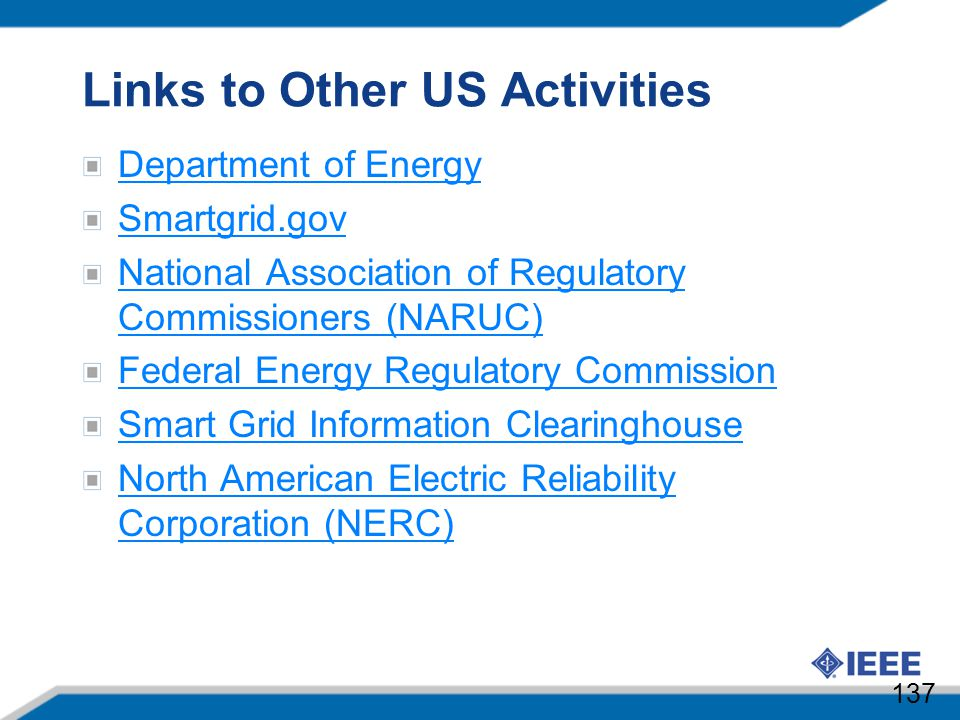 Links to Other US Activities