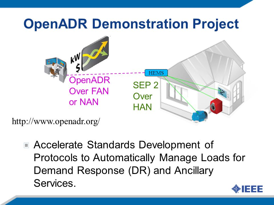 OpenADR Demonstration Project